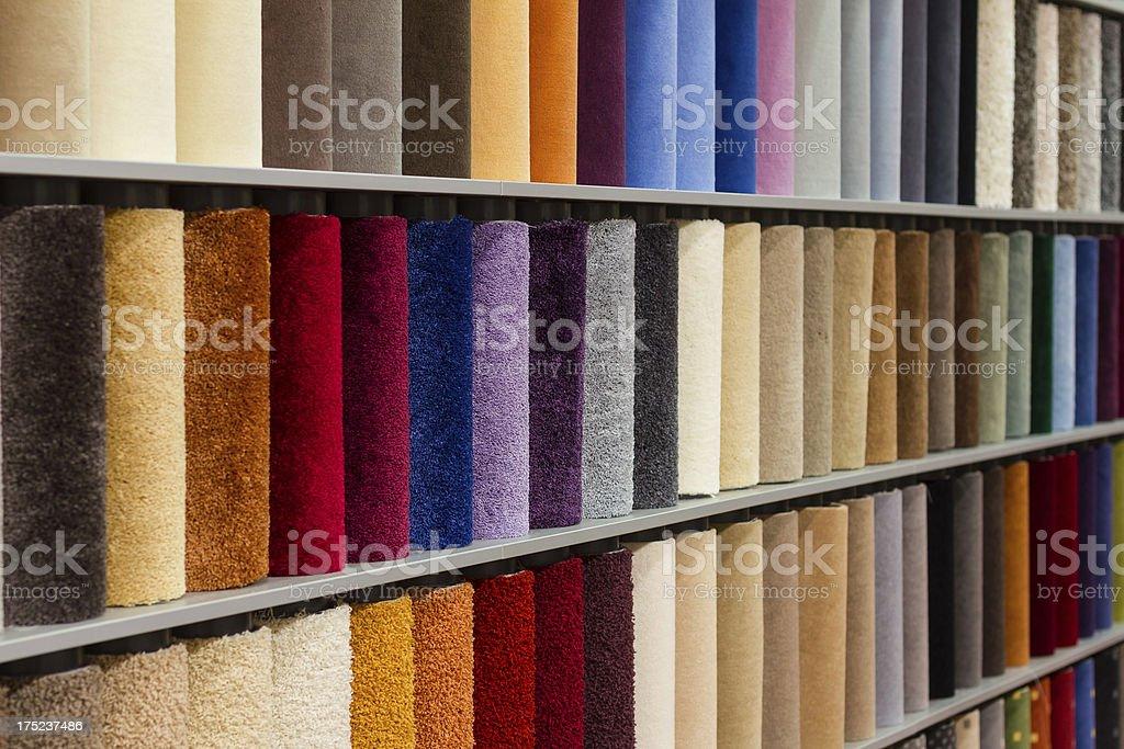 Carpet Sample stock photo