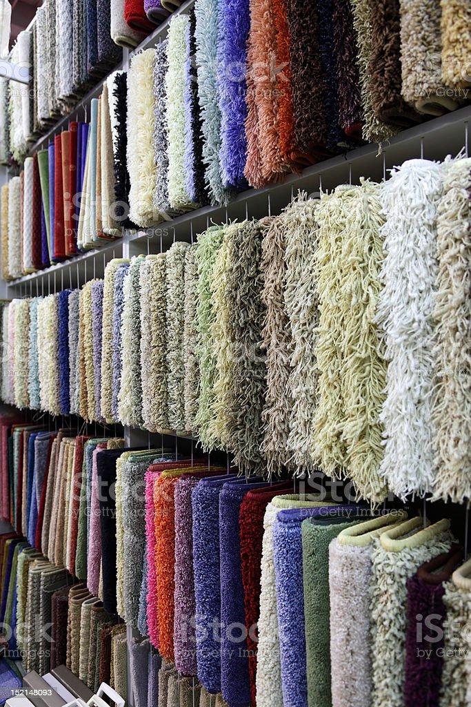 carpet samples royalty-free stock photo