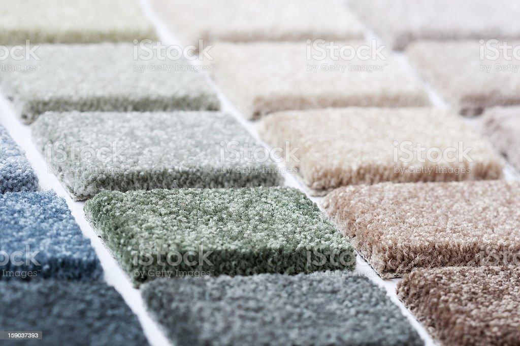 Carpet Samples stock photo