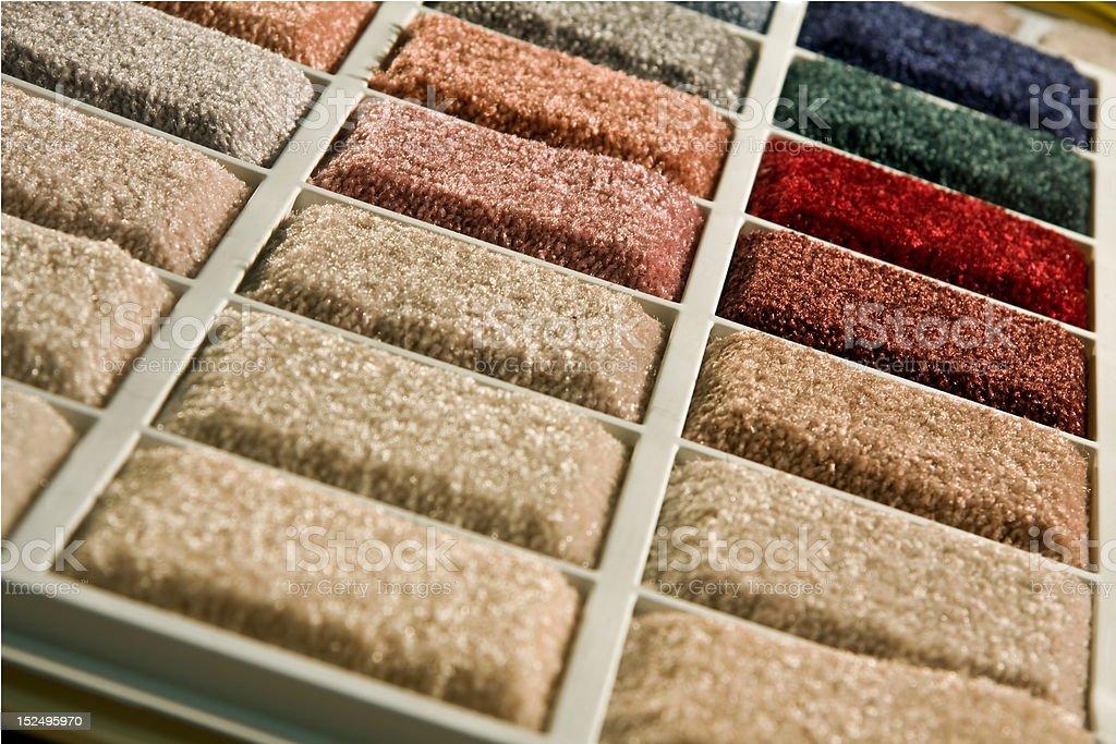 Carpet showroom royalty-free stock photo