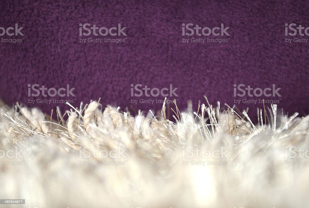 Carpet Side View royalty-free stock photo