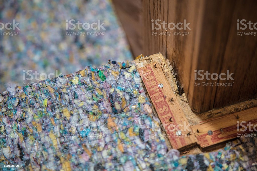 Carpet Tack Strips stock photo