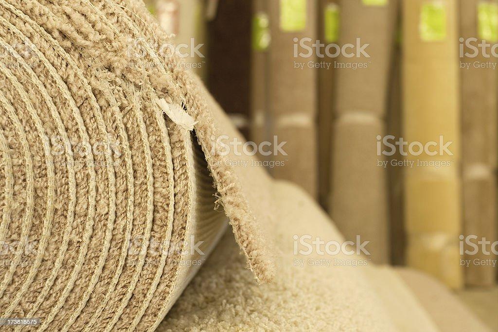 Carpet Warehouse royalty-free stock photo