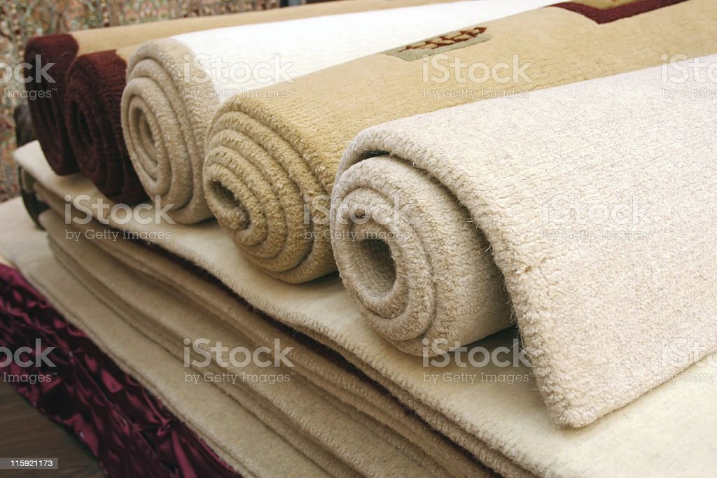 Carpets royalty-free stock photo