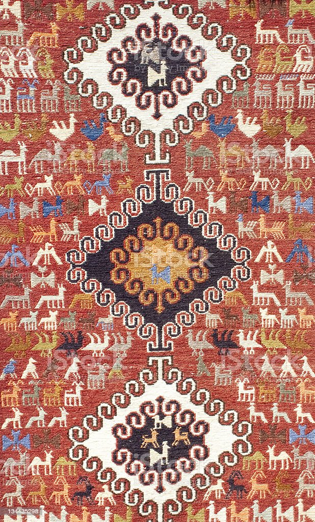 carpets, rugs, anonymous pattern royalty-free stock photo