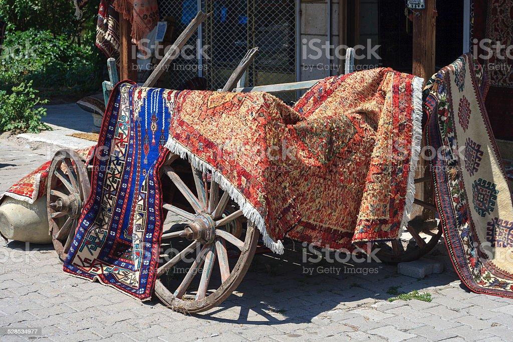 carpets shop stock photo