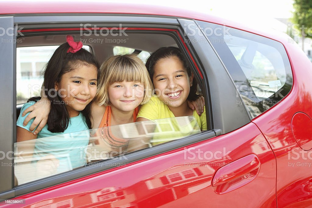 Carpooling royalty-free stock photo