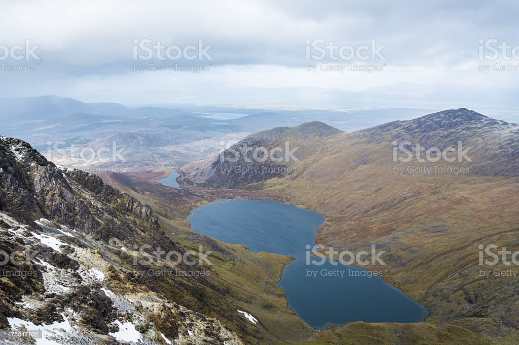 Carrantuohill in Winter, Ireland royalty-free stock photo