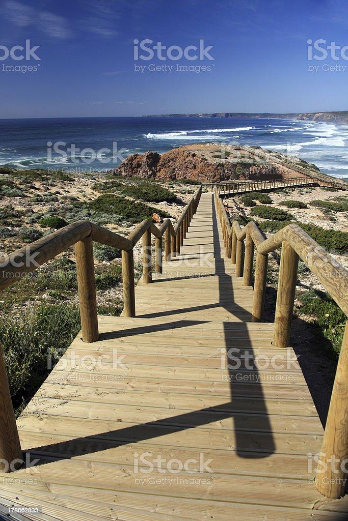 Carrapateira Beach royalty-free stock photo