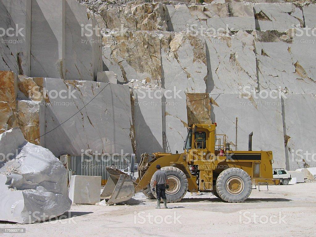 Carrara Quarry III - Italia stock photo