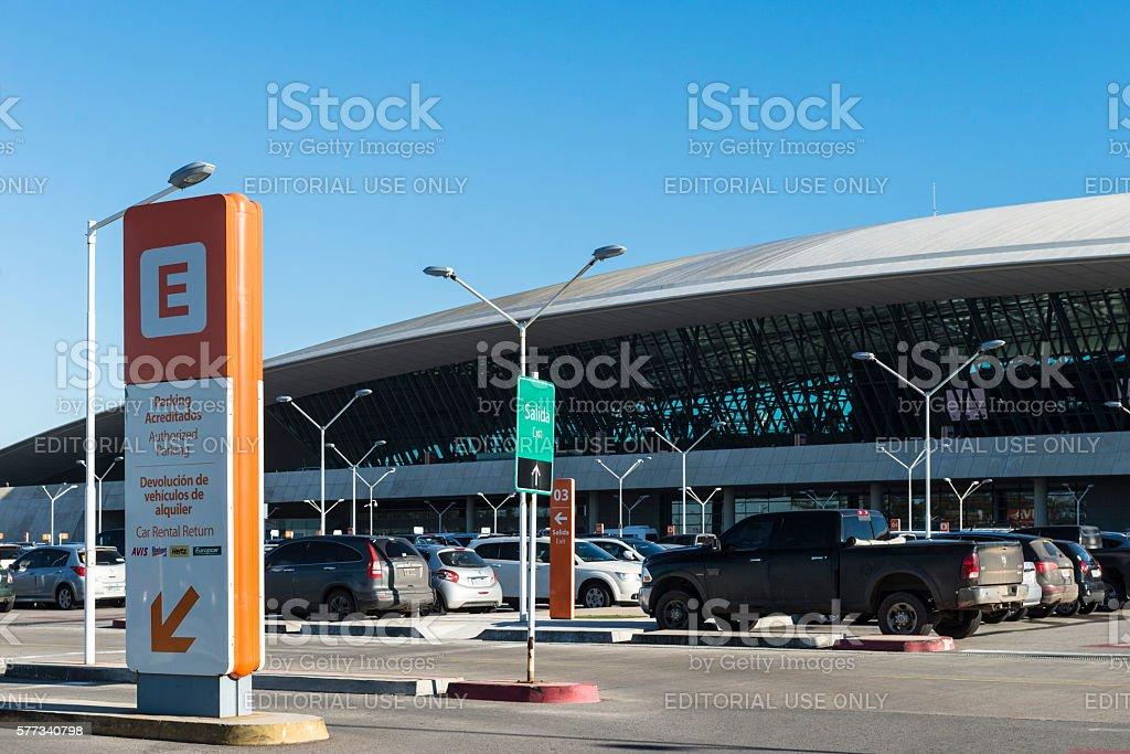 Carrasco International Airport - Uruguay stock photo