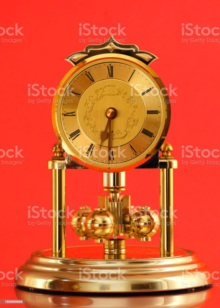 Carriage Clock stock photo