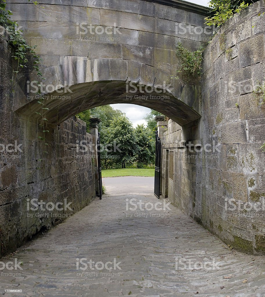 Carriage Gate royalty-free stock photo