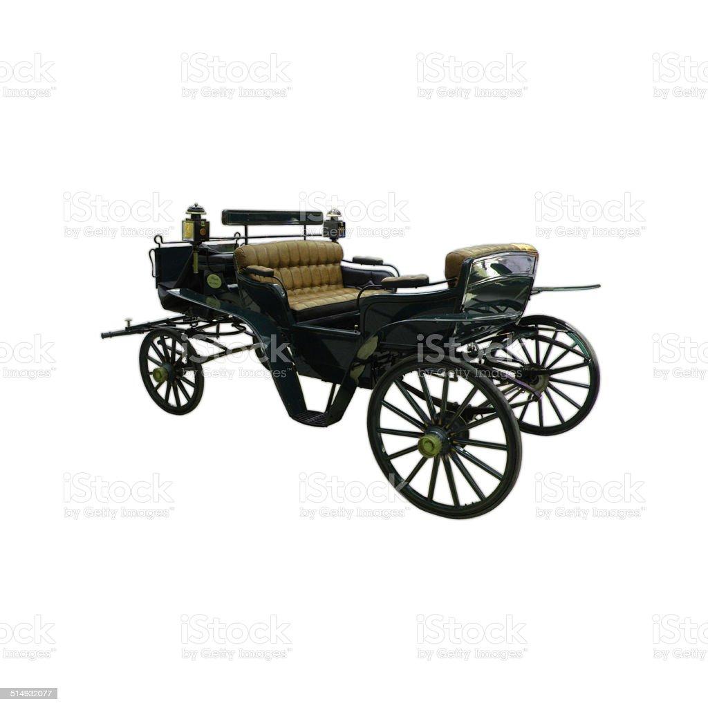 Carriage stock photo