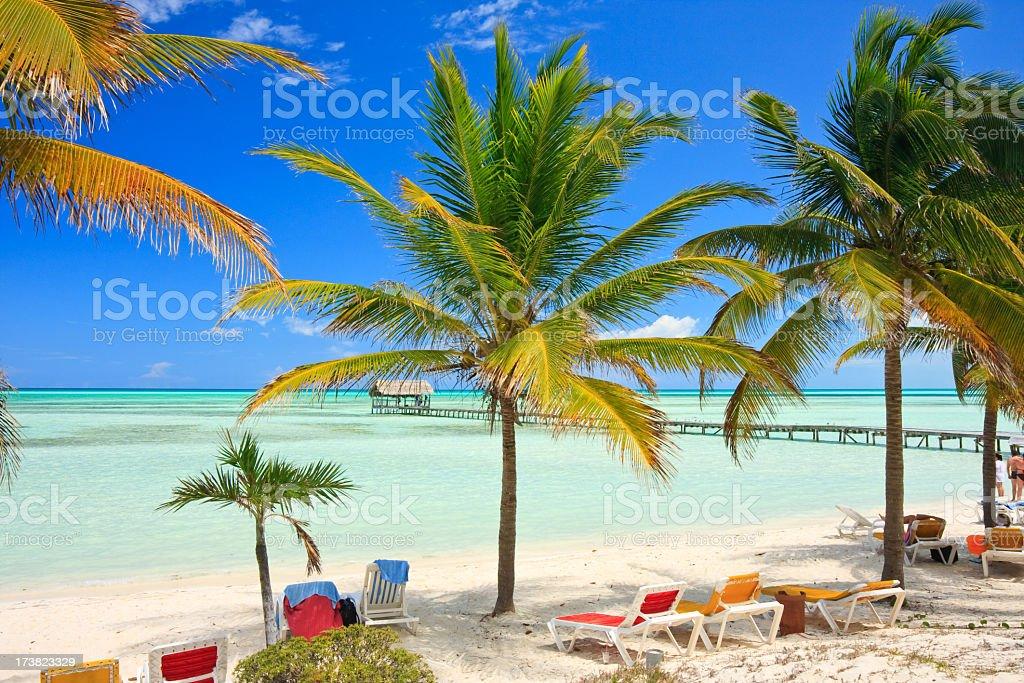 Carribean vacation stock photo