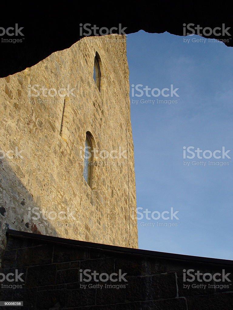Carrickfergus Castle, Northern Ireland stock photo
