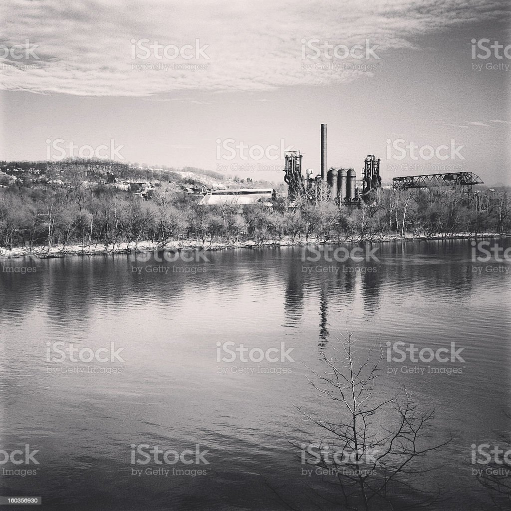 Carrie Furnace royalty-free stock photo