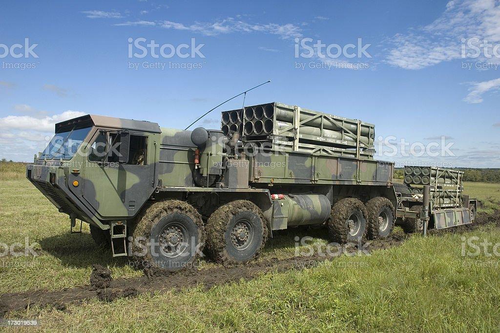 M993 MLRS Carrier stock photo