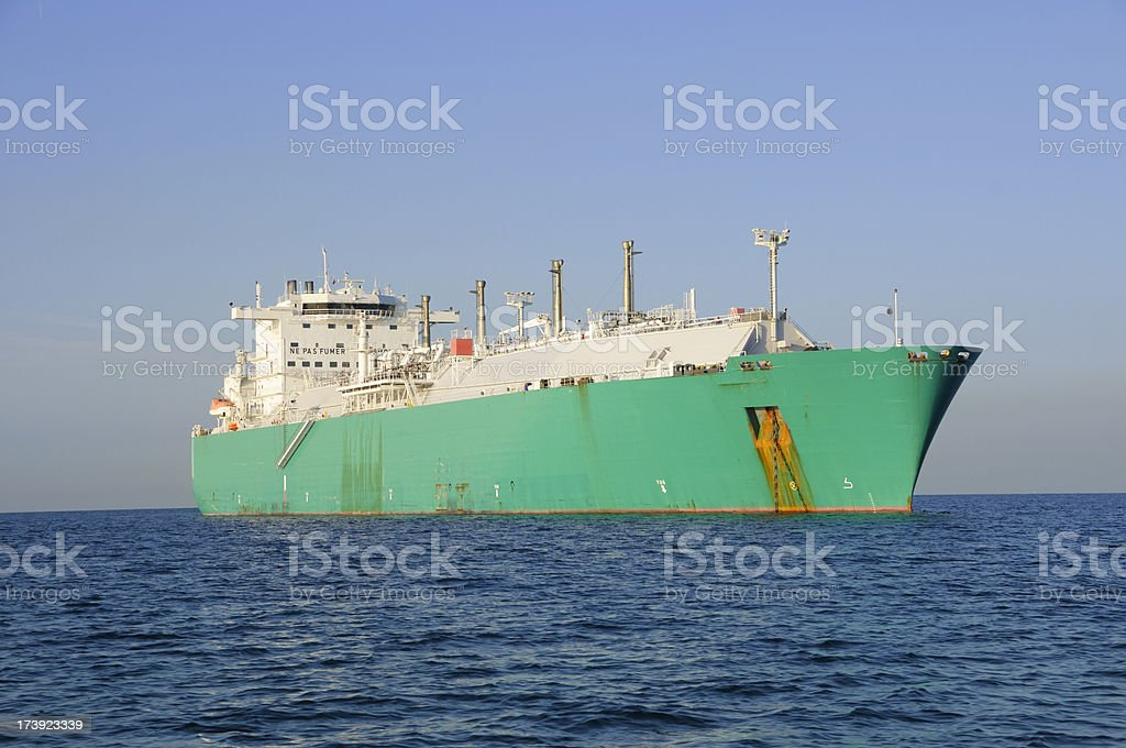 LNG carrier stock photo