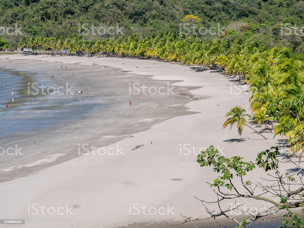 Carrillo Beach in the near of Samara royalty-free stock photo