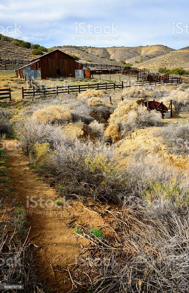 Carrizo Plain National Monument stock photo