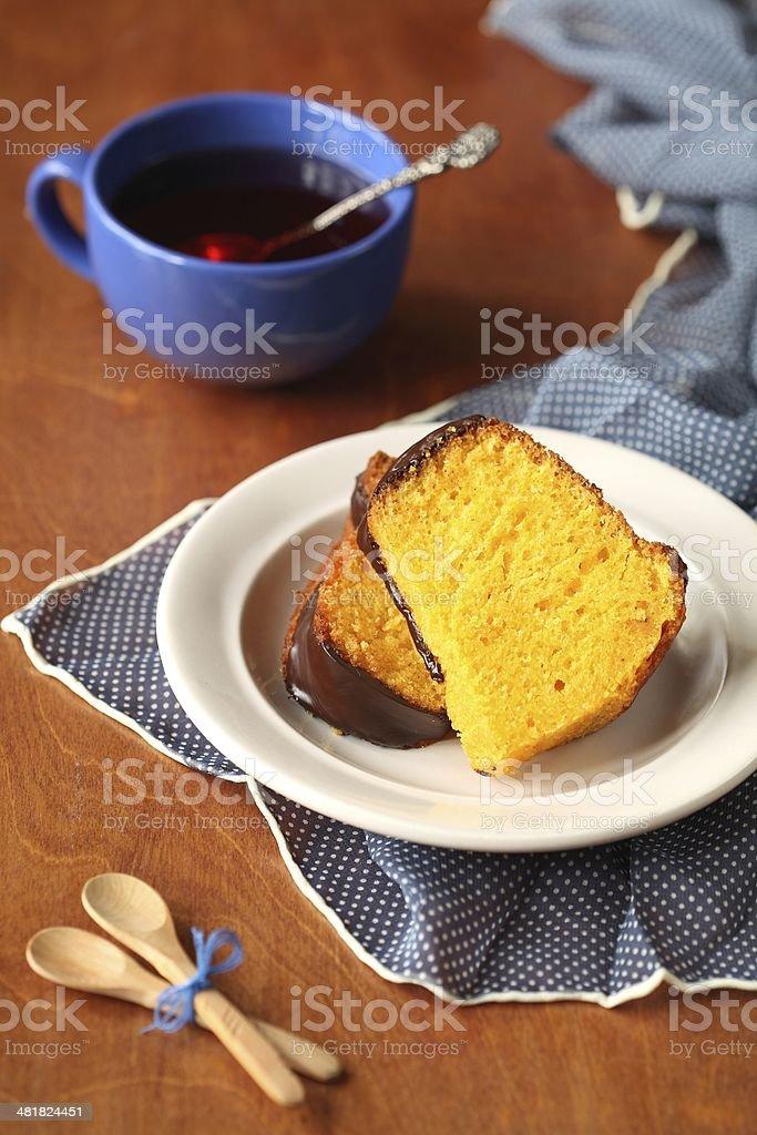 Carrot Cake stock photo