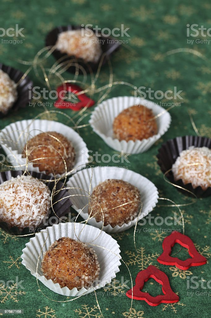Carrot Christmas cookies royalty-free stock photo