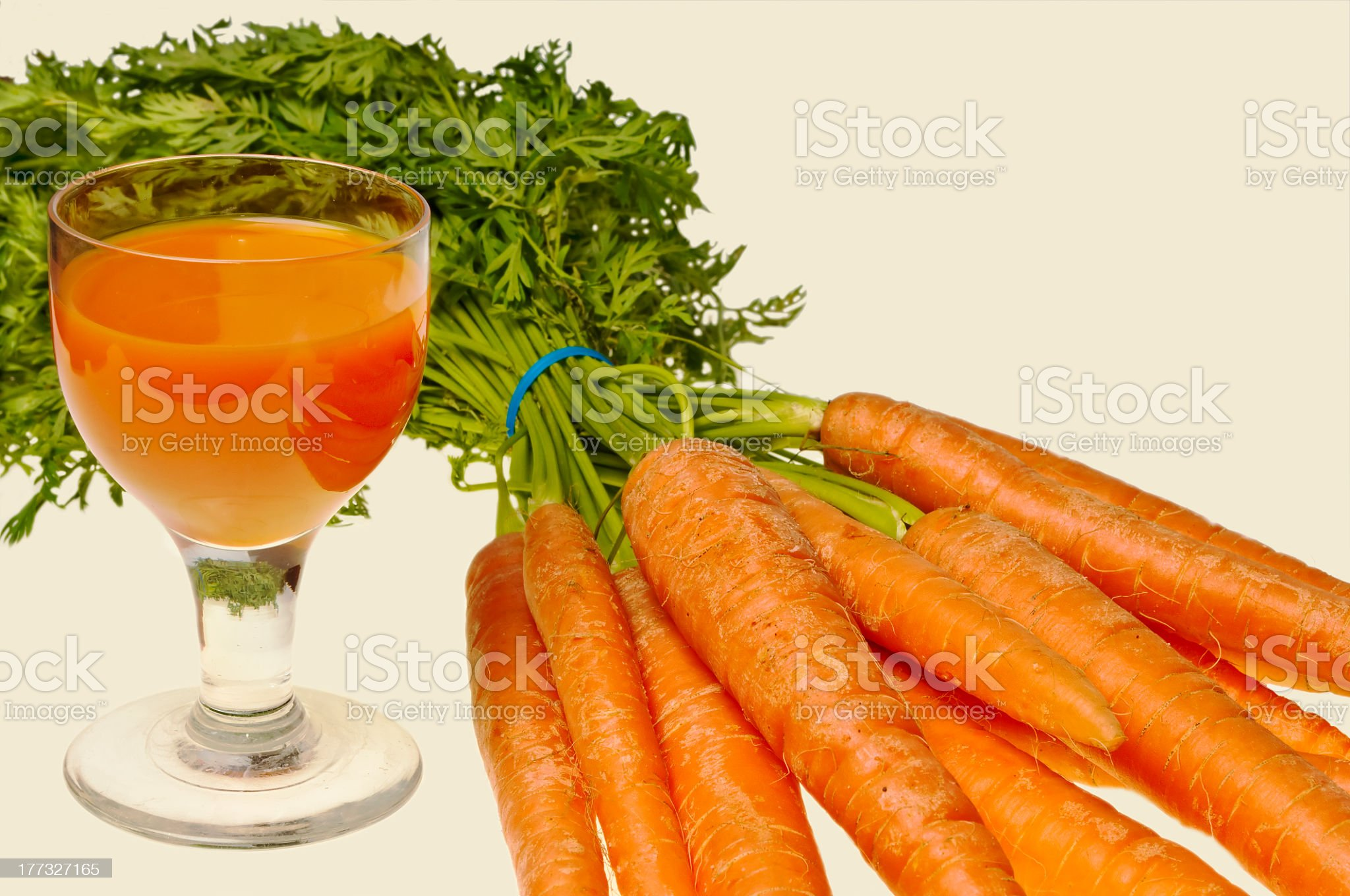 carrot juice royalty-free stock photo