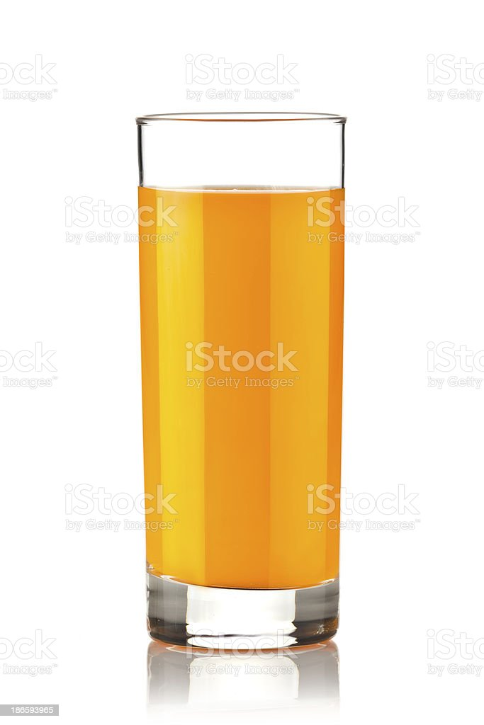 Carrot or Orange Juice royalty-free stock photo