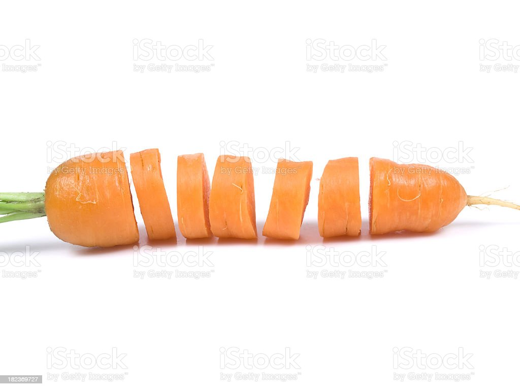 carrot royalty-free stock photo