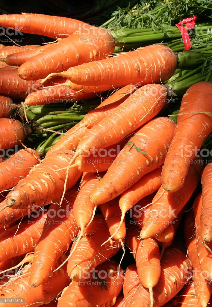 Carrot Pile stock photo
