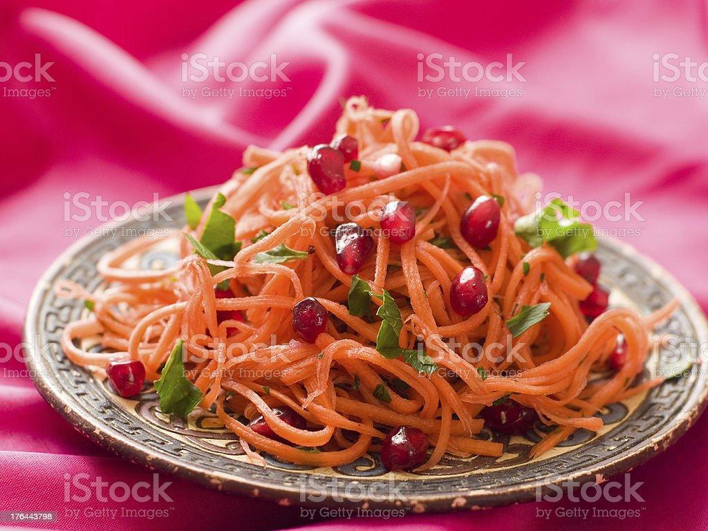 carrot salad royalty-free stock photo