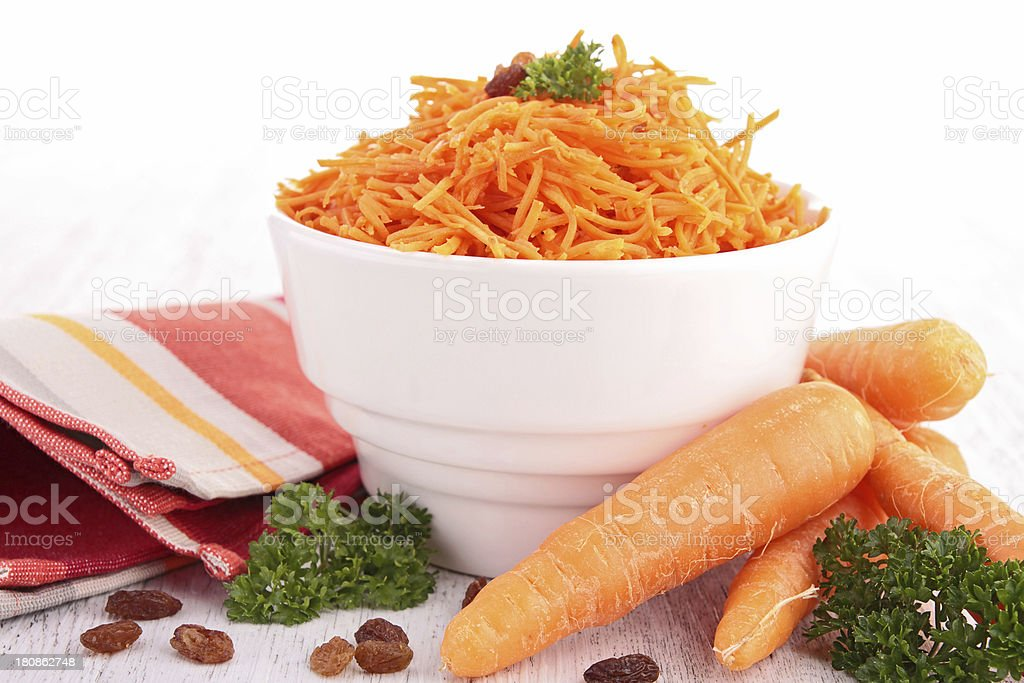 carrot salad royalty-free stock photo