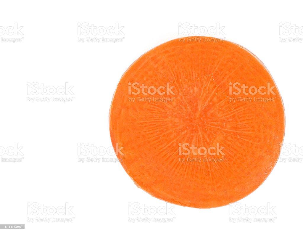 Carrot Slice royalty-free stock photo