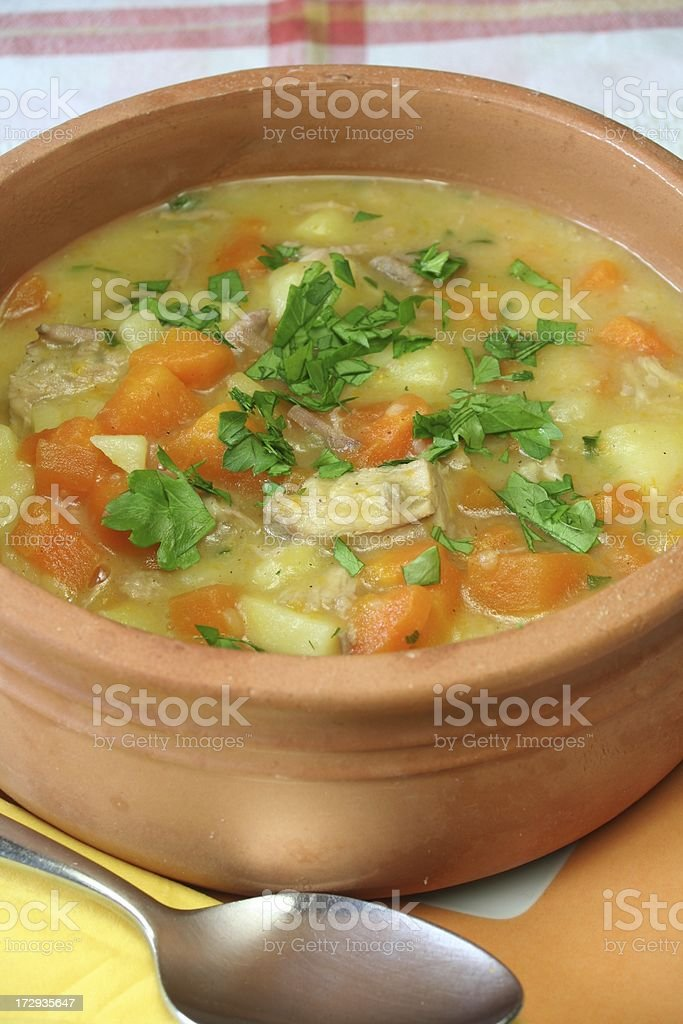 Carrot Soup stock photo