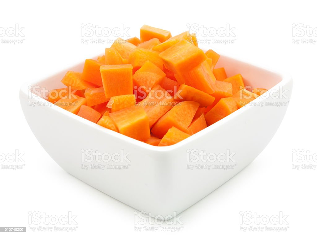 carrots in a glass cup stock photo