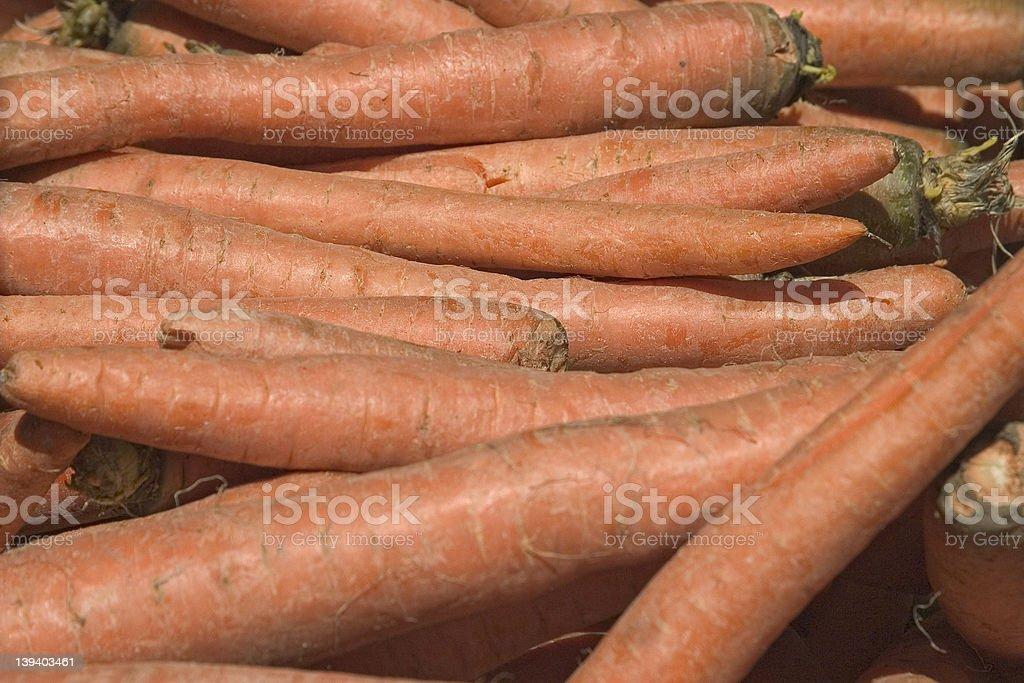 Carrots royalty-free stock photo