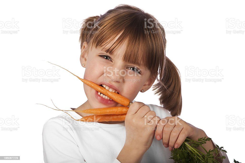 Carrots. royalty-free stock photo