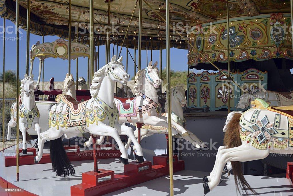 Carrousel royalty-free stock photo