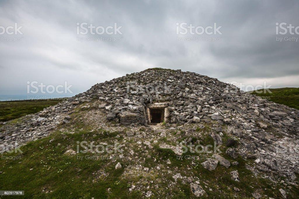 Carrowkeel megalithic graveyard, Co Sligo stock photo