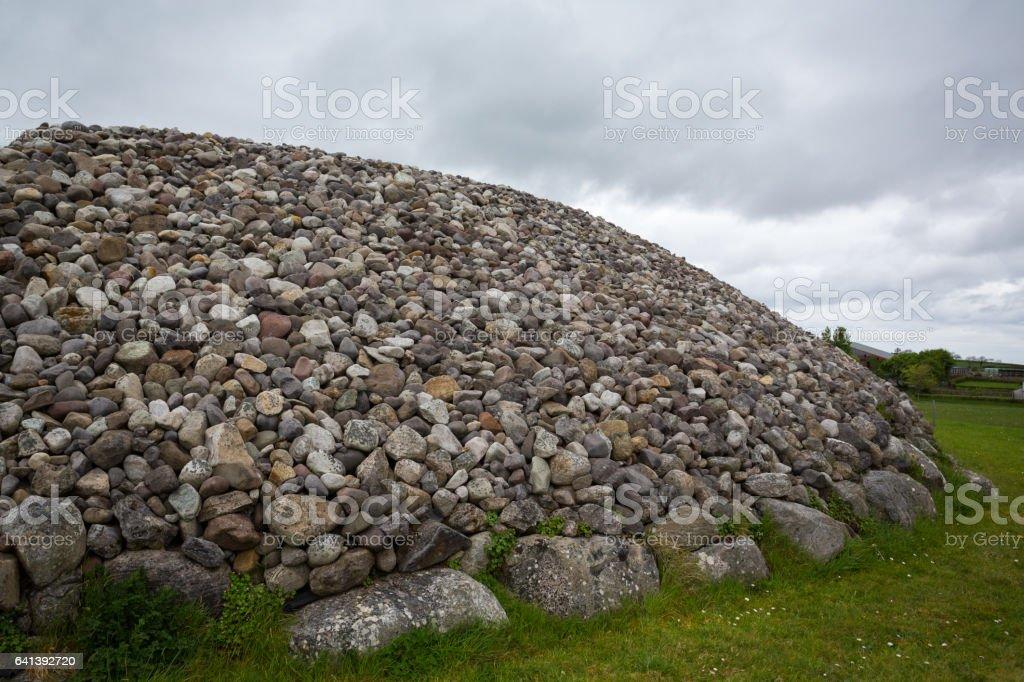 Carrowmore Megalithic Cemetery in Sligo, Ireland stock photo