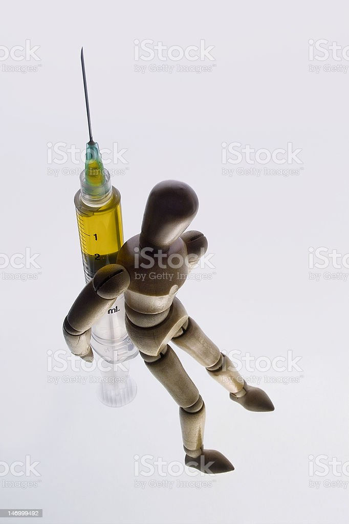 Carrying Addiction royalty-free stock photo