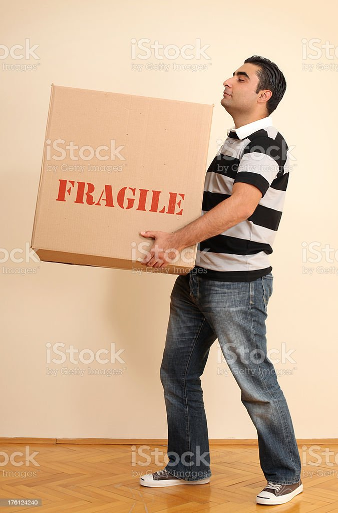 Carrying Box royalty-free stock photo