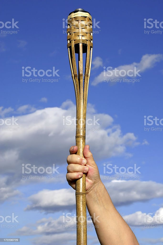 Carrying The Torch # 2 royalty-free stock photo