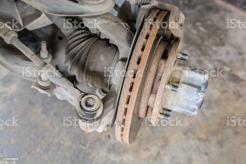 car's break stock photo
