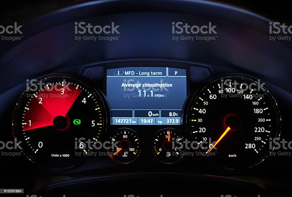 Car's dashboardCar's dashboardCar's dashboard stock photo