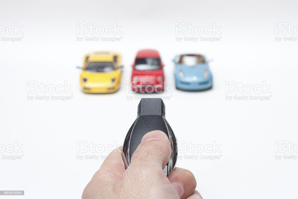 Cars fleet stock photo