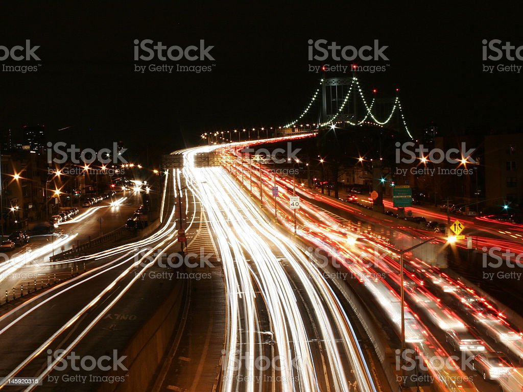 cars in motion royalty-free stock photo