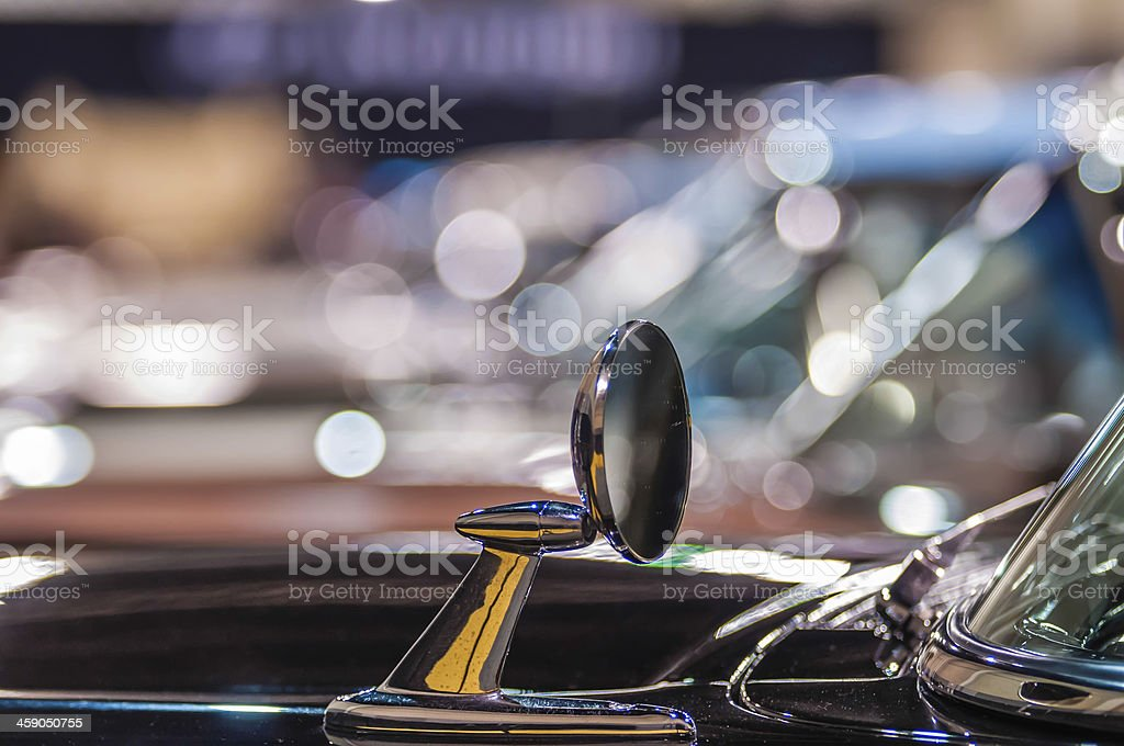 cars on display at an autoshow stock photo