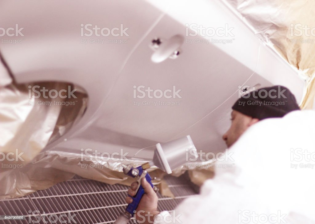 Cars paint stock photo